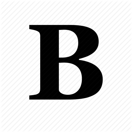 Bold, Font, Format, Strong, Style, Type Icon