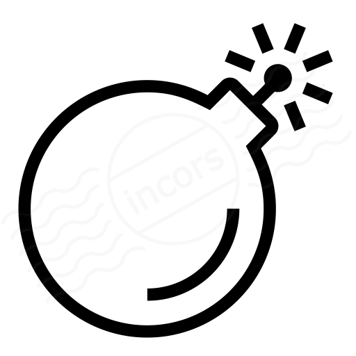 Iconexperience I Collection Bomb Icon