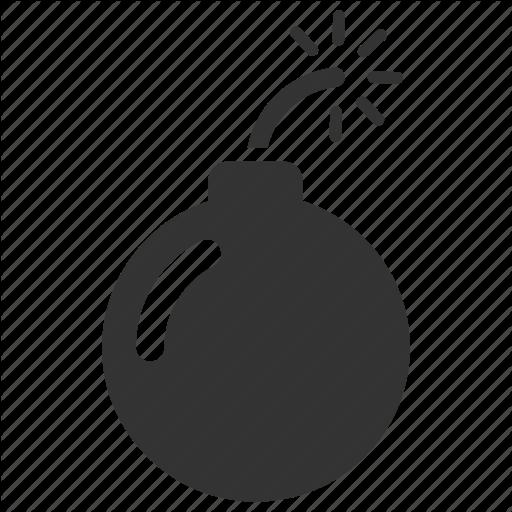Attack, Bomb, Danger, Explosion, Malware, Terrorist, Threat Icon