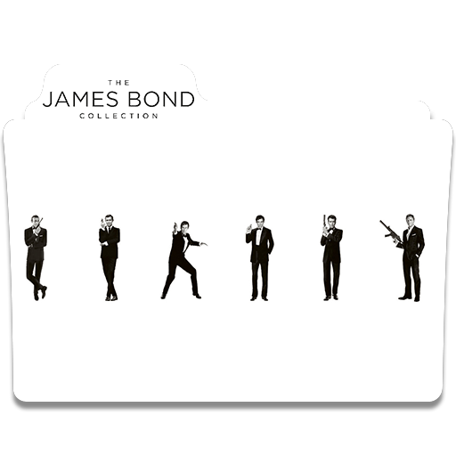 James Bond Collection Folder Icon