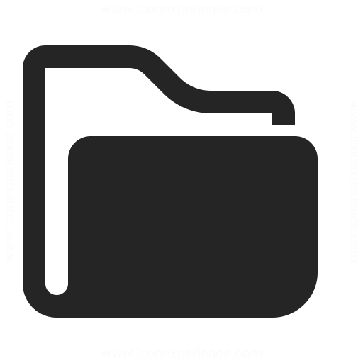 Folder Icon Iconexperience