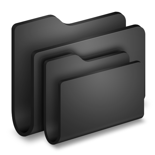 Folders Black Folder Icon Free Download As Png And Formats