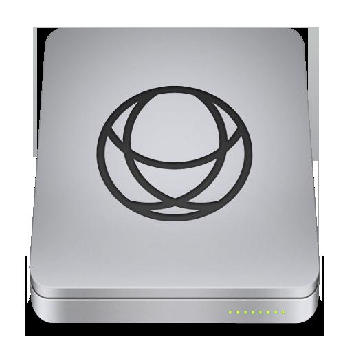 Network Icon Unibody Drive Iconset Komfort Zone