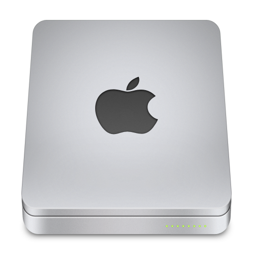 Apple Icon Unibody Drive Iconset Komfort Zone