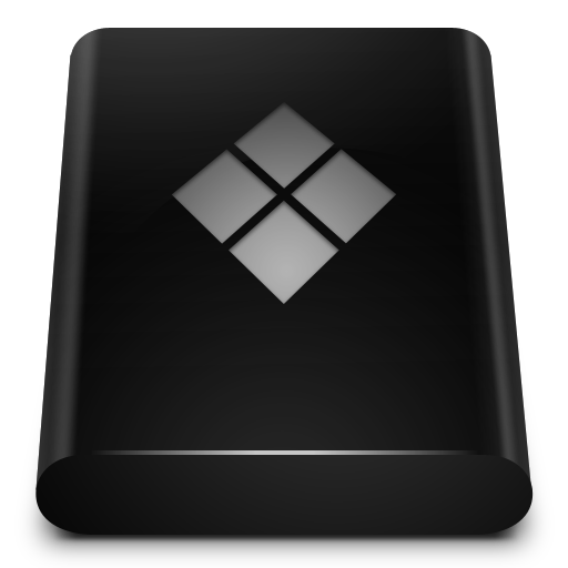 Black, Drive, Bootcamp Icon Free Of Blend Icons