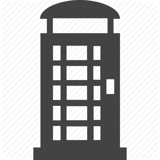 Phone, Phone Booth Icon