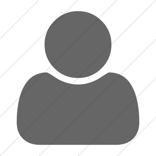 Simple Gray Bootstrap Font Awesome User Icon