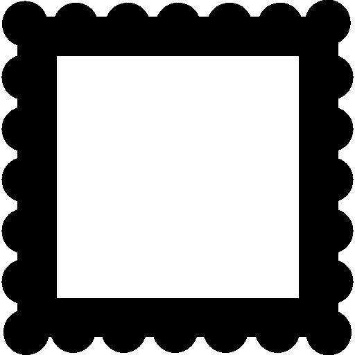 Frame Border Like A Stamp