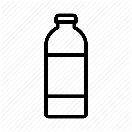 Bottle, Breakfast, Drink, Juice, Milk, Milk Bottle Icon