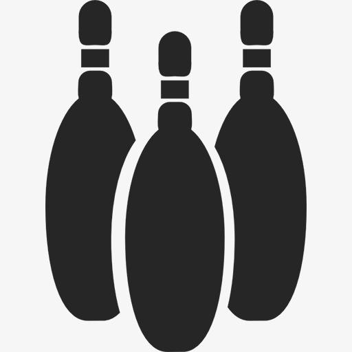 Bowling Bottle Icon, Bowling Clipart, Bottle Cliparticon Clipart