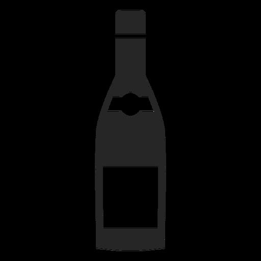 Wine Bottle Flat Icon