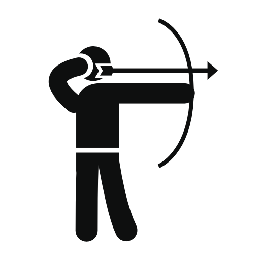 Archery Skill Free Vector Icons Designed