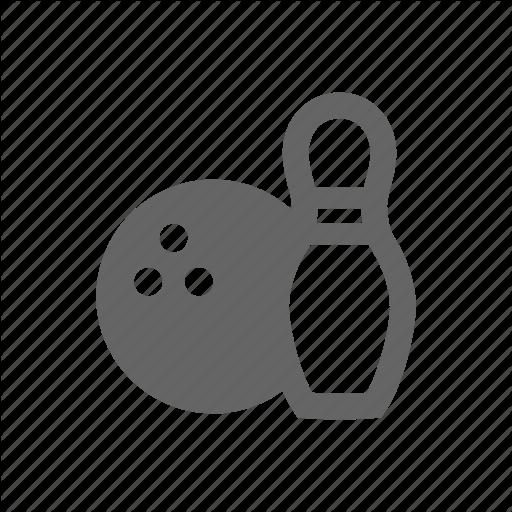Bol, Bowling, Skittle Icon