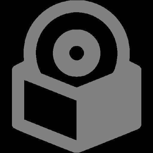 Gray Software Box Icon