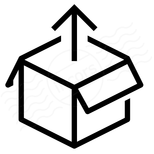 Iconexperience I Collection Box Out Icon