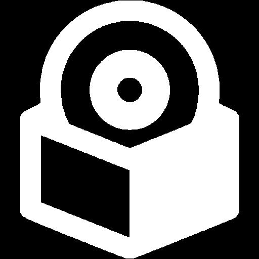 White Software Box Icon