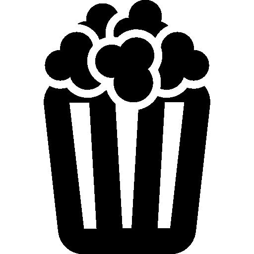 Box Of Popcorn Icons Free Download