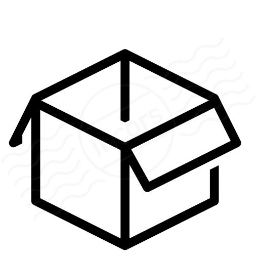 Iconexperience I Collection Box Open Icon