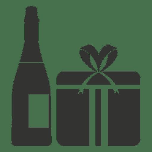 Wine Gift Box Icon
