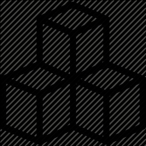 Box, Boxes, Modules, Shipping, Storage, Storehouse Icon