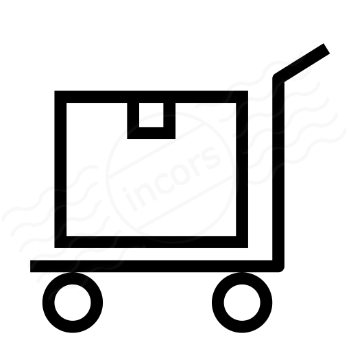 Iconexperience I Collection Platform Truck Box Icon