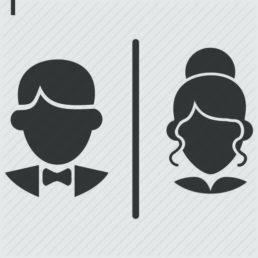 Boy And Girl Bathroom Signs Gender Signs For Bathroom Restroom