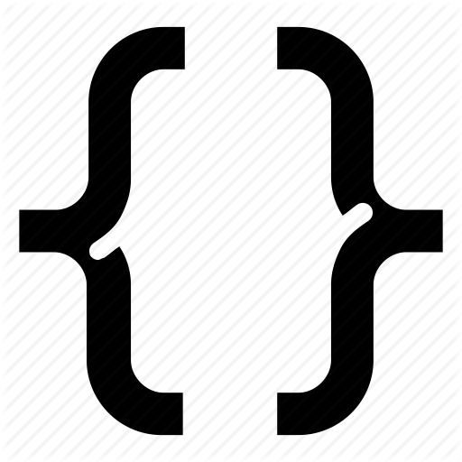 Brackets, Coding, Programming Icon