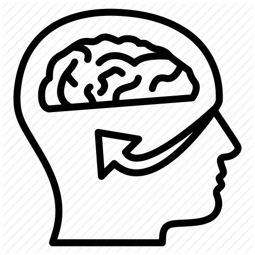 Brain, Head, Idea, Visual, Visualidea Icon