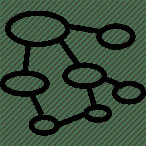 Brainstorm Graph Tree Icon