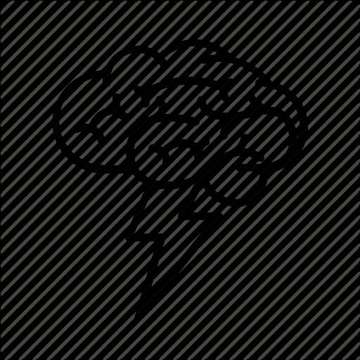 Brain, Brainstorm, Brainstorming, Knowledge, Metaphor, Thinking Icon
