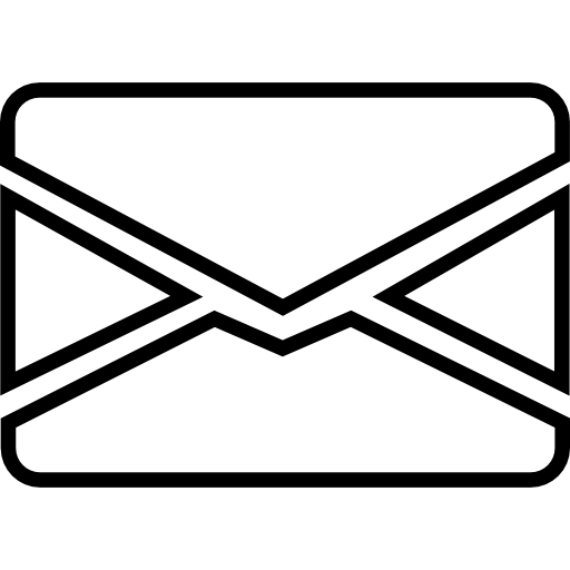 Email Closed Envelope Outline Icons Free Download
