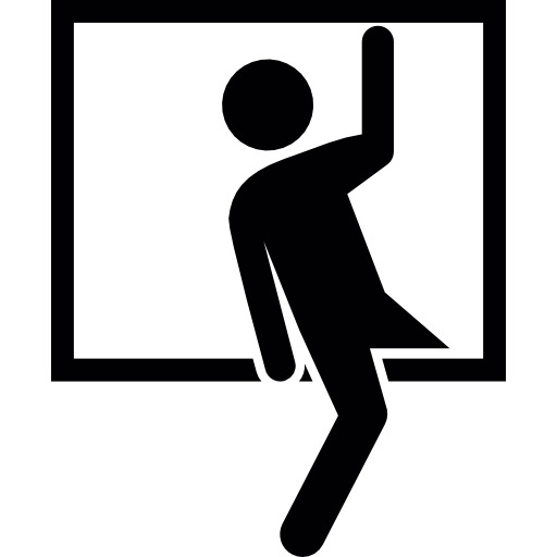 Robber Entering
