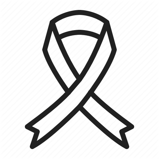 Breast, Cancer, Medical, Ribbon Icon