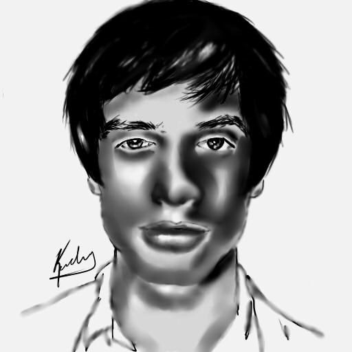 Portrait Of Brendon Urie