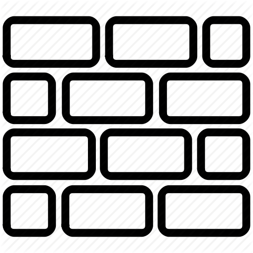 Barrier, Block, Border, Brick Wall, Fence, Firewall, Limit Icon