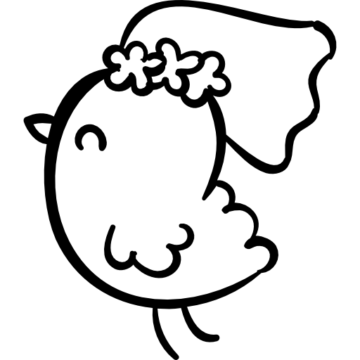 Chicken Bride Icons Free Download
