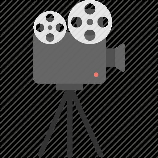 Cinema Symbol, Cinematography, Film Shooting Camera, Movie Camera