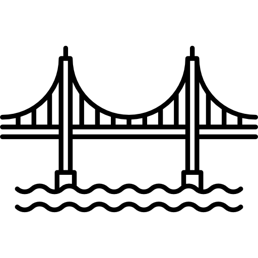 Golden Gate Bridge Icons Free Download