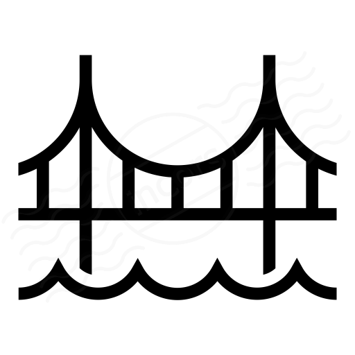 Iconexperience I Collection Bridge Icon