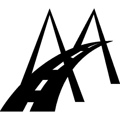 Modern Bridge Road Symbol Icons Free Download