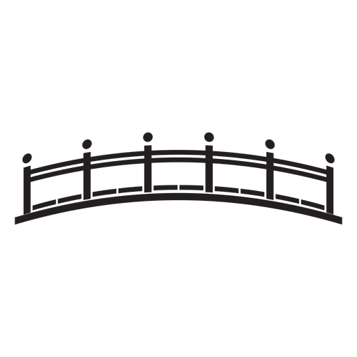 Bridge Stroke Icon