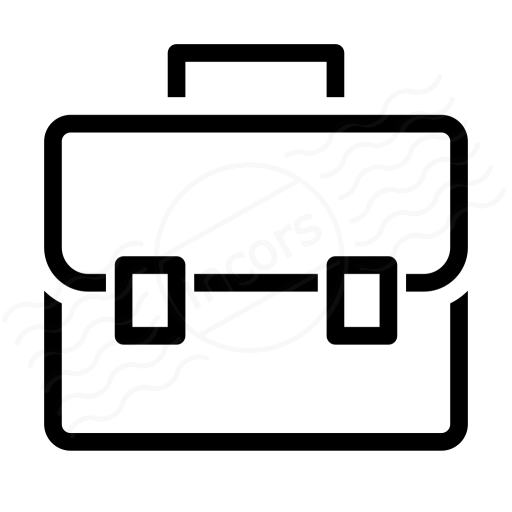 Iconexperience I Collection Briefcase Icon