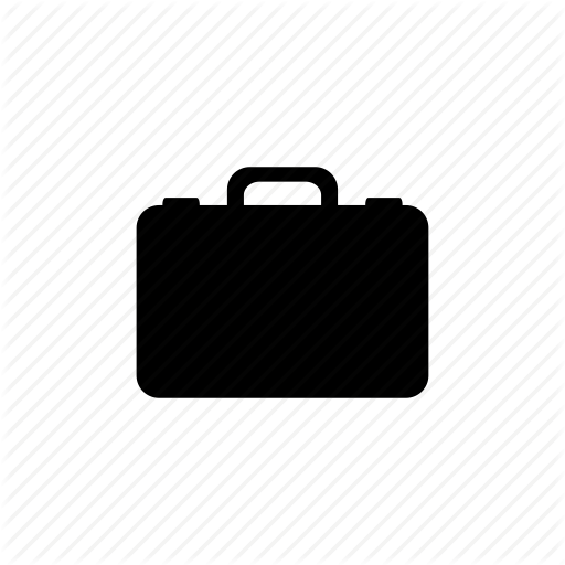Baggage, Briefcase, Case, Goods, Job, Travel Icon