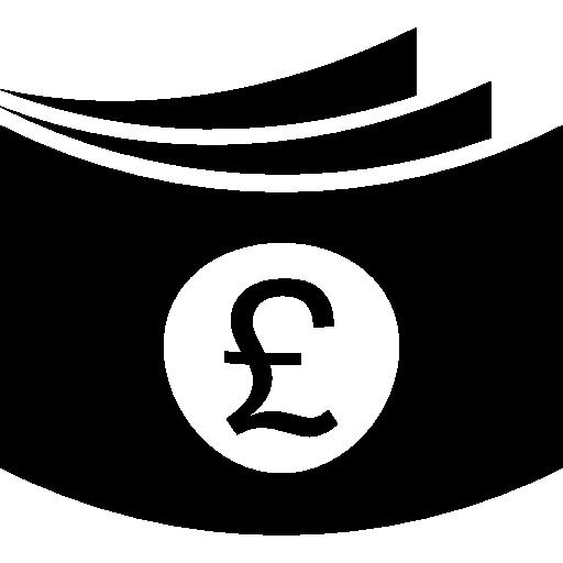 British Pound Wallet Icons Free Download