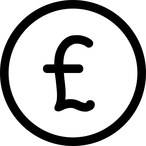 Pound Sterling Icons Free Download