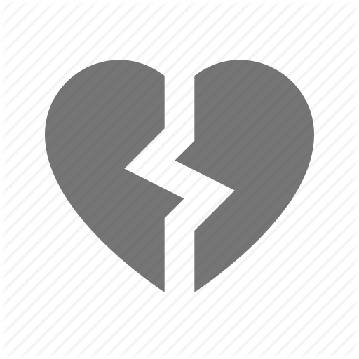 Broken Heart, Heart Icon