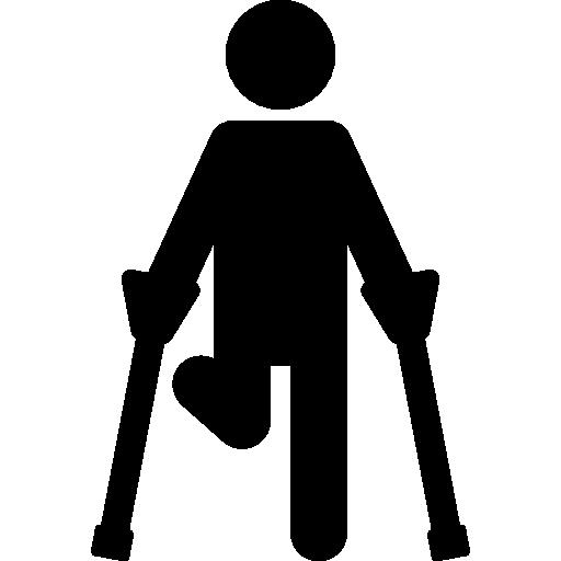 Broken Leg Icons Free Download