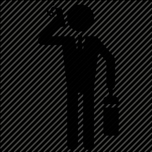 Broker, Business, Man Icon
