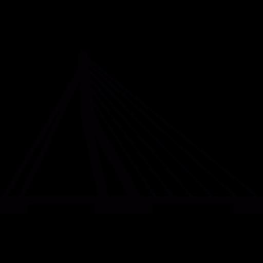 Netherlands, Rotterdam, Bridge, Monuments, Erasmusbrug Icon