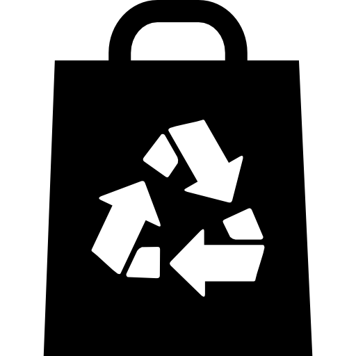 Recyclable Bag Icons Free Download